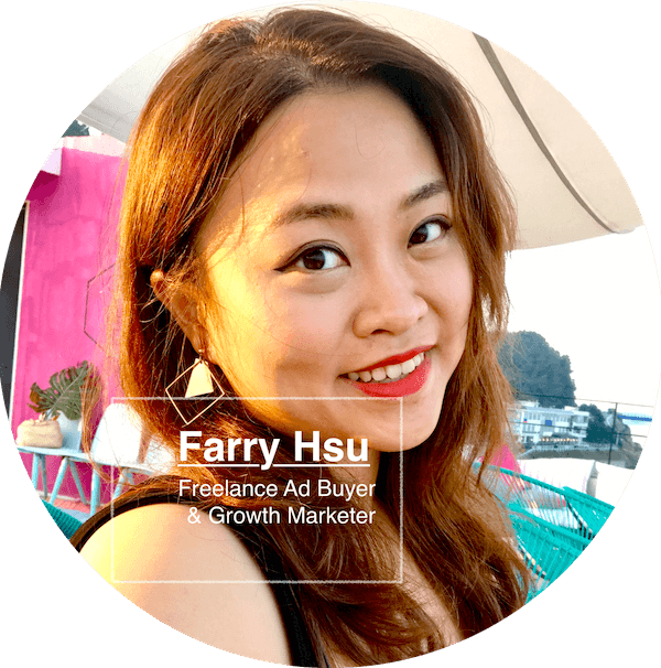 Farry Hsu Growth Hacker - Digital Marketing, Facebook Ad